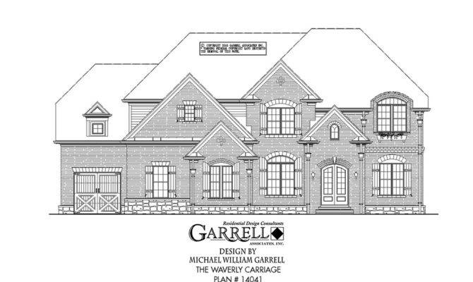 Waverly Carriage House Plan Covered Porch Plans