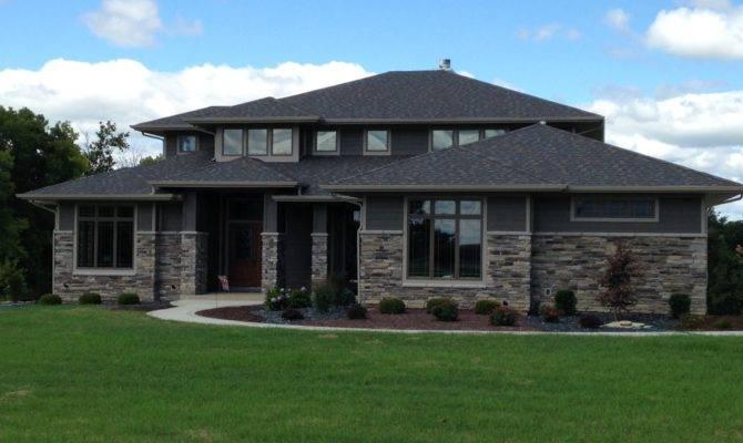 Wayne Indiana Custom Home Builder Prairie Style New Haven