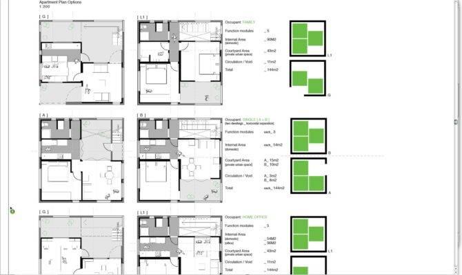 Weeks Design Modular Apartment Plans