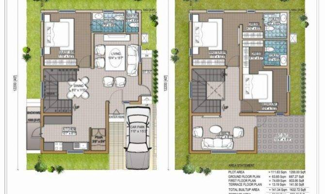 Well Suited Ideas Duplex House Plans