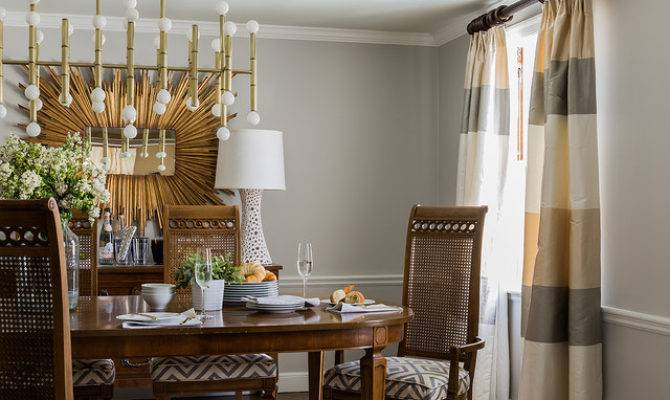 Wellesley Colonial Contemporary Dining Room Boston