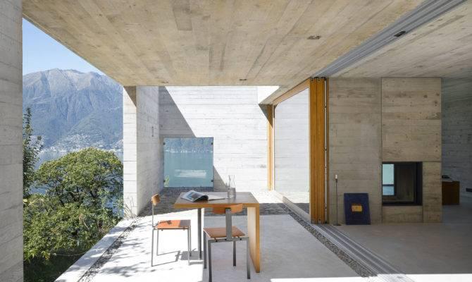 Wespi Meuron Architekten Open Concrete Building Part