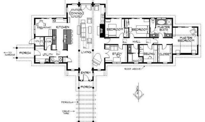 Western Ranch House Plans Lovely More Passive Solar Hooray