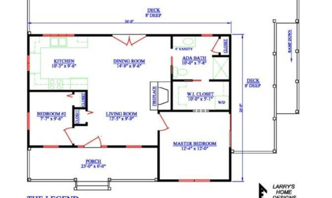 Wheelchair Accessible Small House Plans