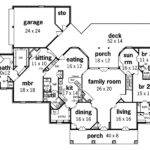 Whispering Manor One Story Home Plan House