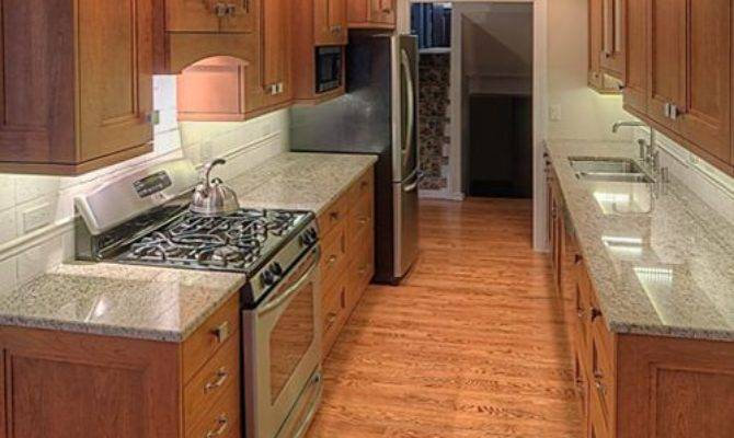 Wide Galley Kitchen Home Design Ideas Remodel