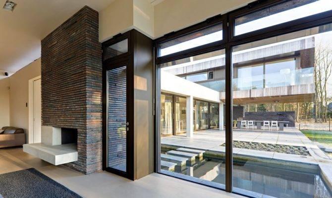 Wide Glass Window Modern Design Dazzling