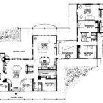 Wide House Plans Bedroom Ranch Open Floor