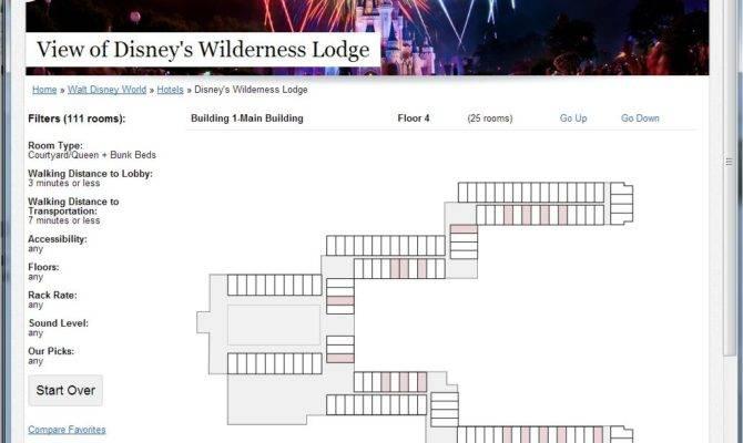 Wilderness Lodge Floor Plan