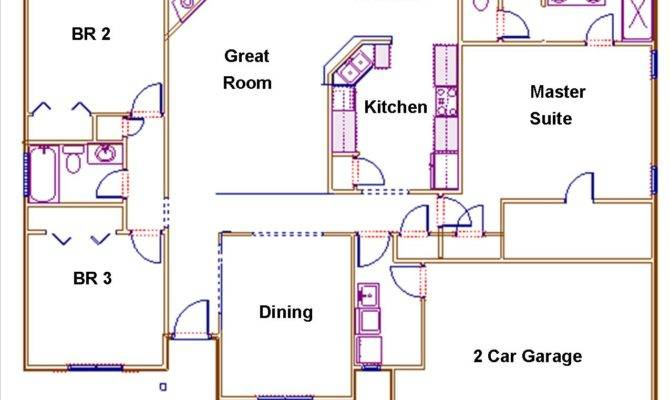 Willow Trace Floor Plan Groce Companies