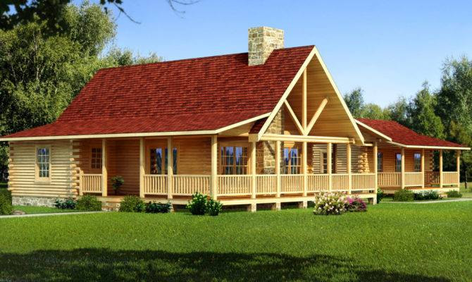Windham Log Home Plan Southland Homes Skip Main Content