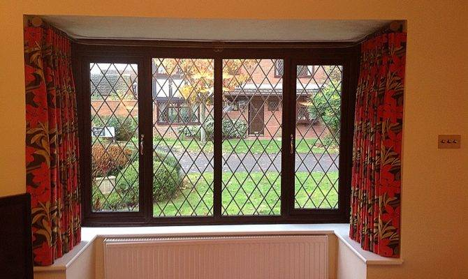 Window Curtain Lovely Square Bay Curtains