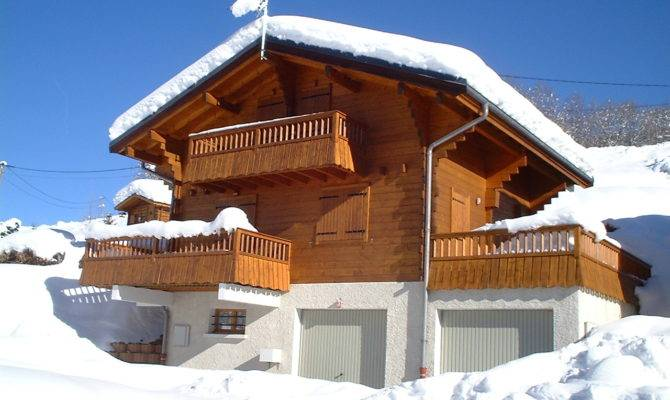 Winter Ski Chalets House Plans Cabin Home Style Designs