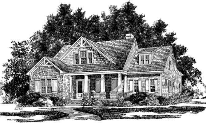 Winthrop Heights Mitchell Ginn Southern Living House Plans