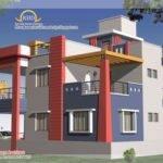 Wonderful Duplex House Plan Elevation