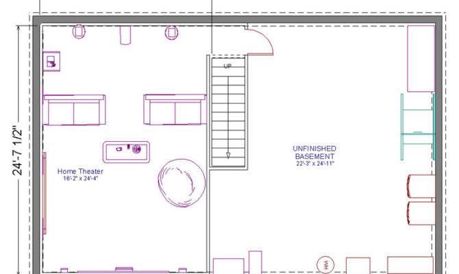Wonderful Home Theatre Plan