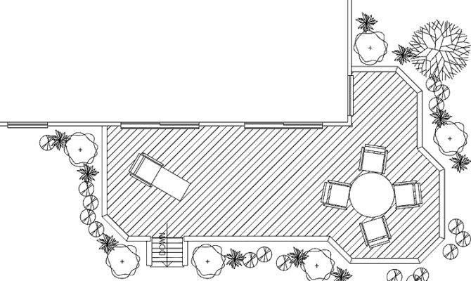 Wonderful Shaped Deck