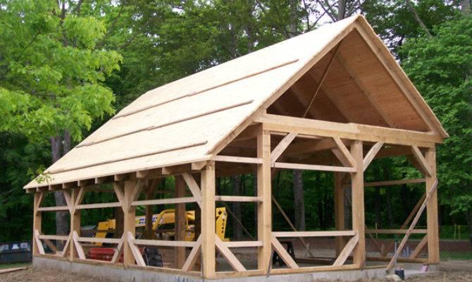 Wood Barn Kit Timber Frame Homes