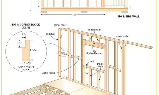 Wood Cabin Plans Step Shed