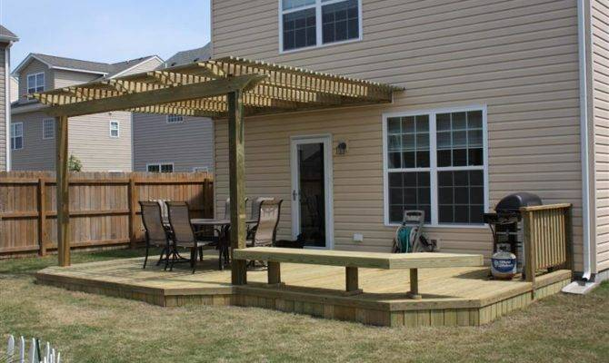 Wood Deck Wooden Decks Chesapeake Acdecks