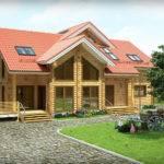 Wood House Plans Home Design Brick