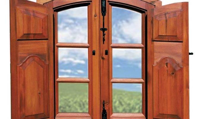 Wood Windows Shutters Win Custom Window Frames