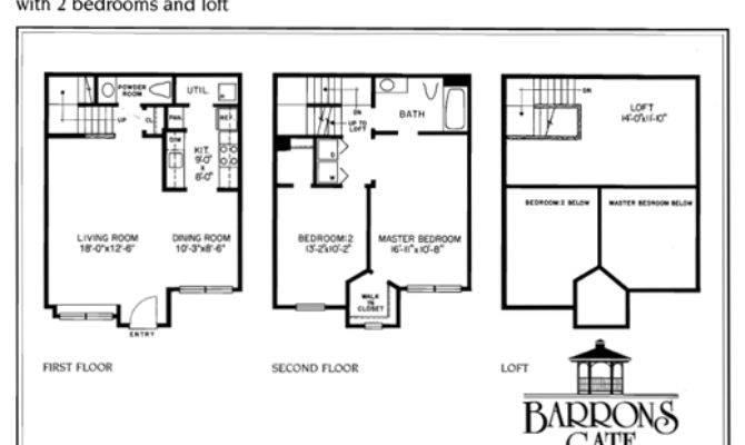 Woodbridge Bedroom Apartment Floor Plans Baron Gate