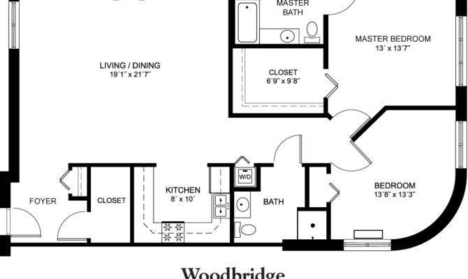 Woodbridge Floor Plan Square Feet Frompo
