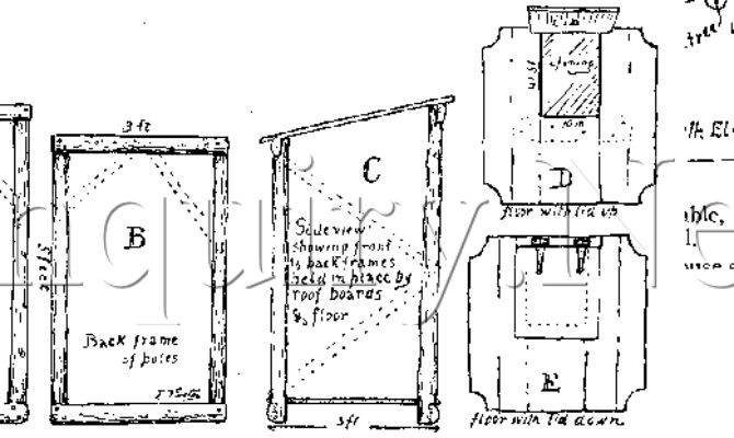 Woodcraft Outhouse Plans Build Out House