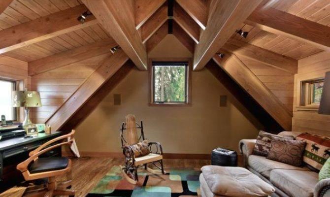 Wooden Attic Ceilings Advantages Design Ideas