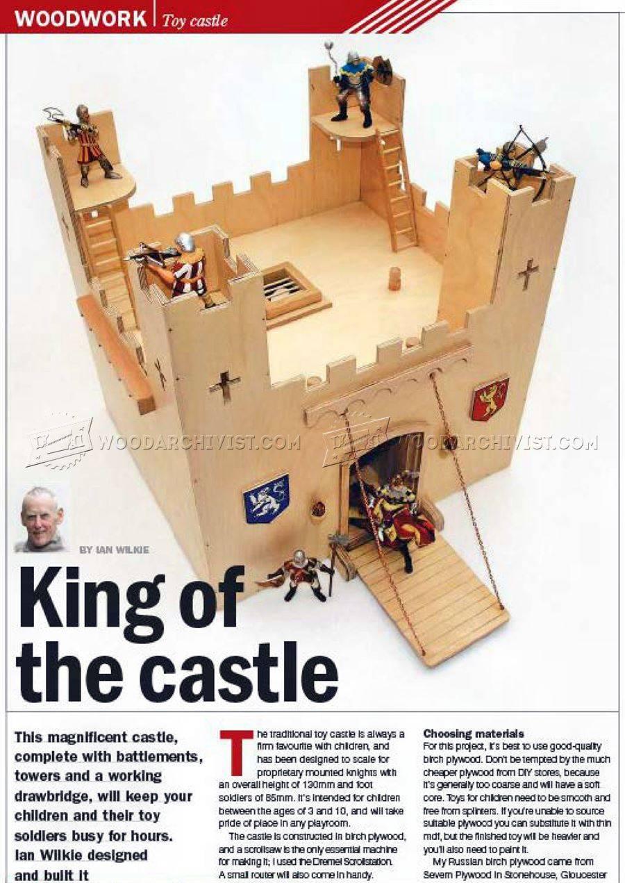 Wooden Castle Plans Woodarchivist