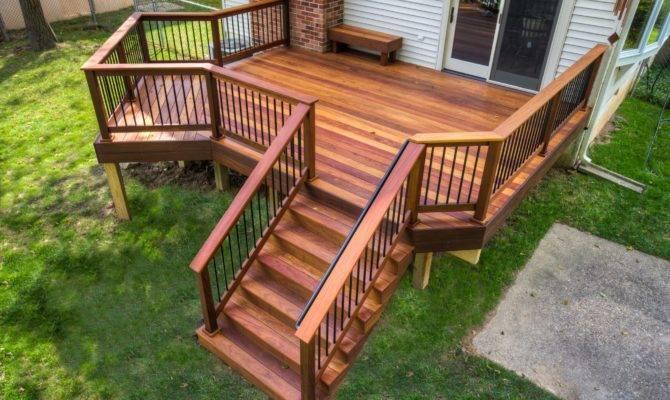 Wooden Decks Stump Quality Porches
