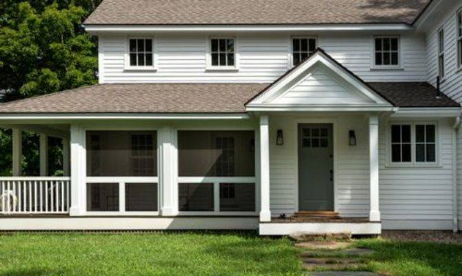 Wooden Farm House Porch Railing Houzz