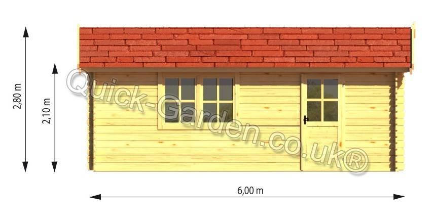 Wooden Garage Delivery