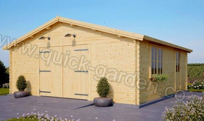Wooden Garage Heavy Duty Door