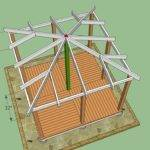 Wooden Gazebo Plans Build Design