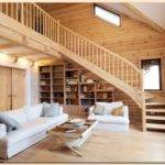 Wooden Houses Clean Attractive Beautiful Home Decorating