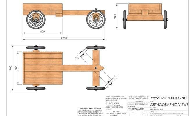 Wooden Kart Plans Build Simple