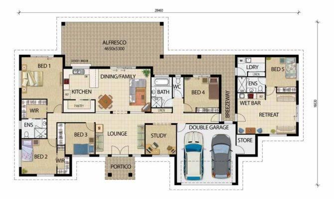 Woodgate Acerage House Plan Granny Flat