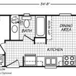 Woodland Floor Plan Park Model Homes Washington Oregon