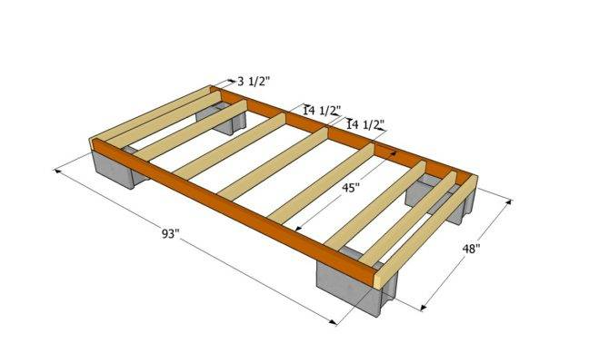 Woodshed Plans Outdoor Diy Shed Wooden