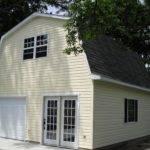 Woodstock Garage Gambrel Roof
