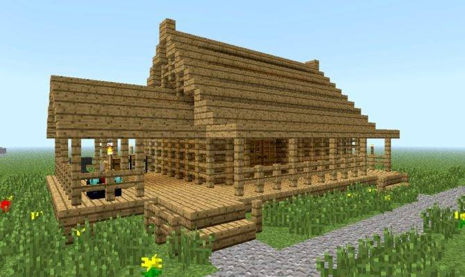 Woodwork Build Wood House Minecraft Pdf Plans