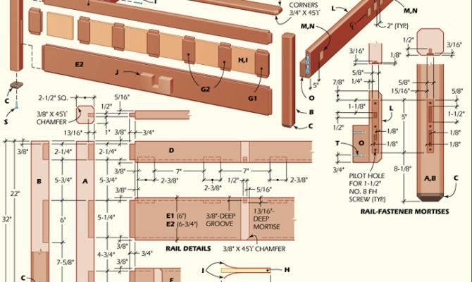 Woodworking Bed Plans Diy Blueprints