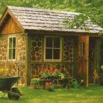 Woodworking Kits Wooden Backyard Sheds Cool Shed Design