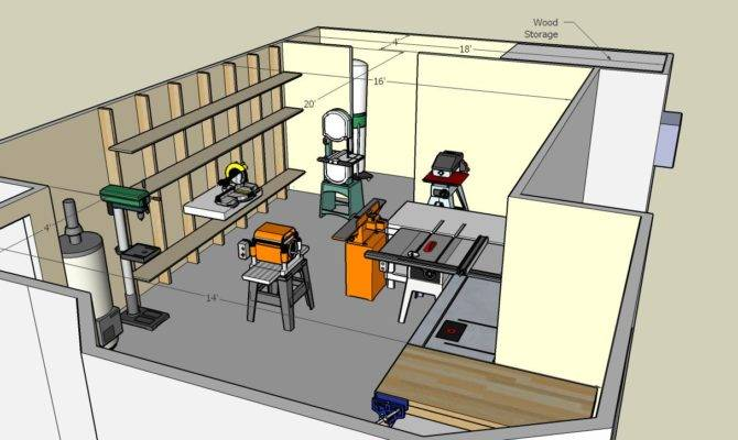 Woodworking Small Shop Floor Plans Pdf