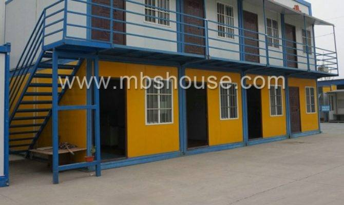 Worker Camp Detachable Container House Construction