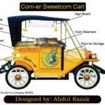 Works Sweet Corn Car Cart Design