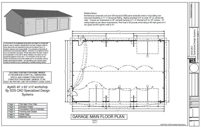Work Garage Plan House Reviews