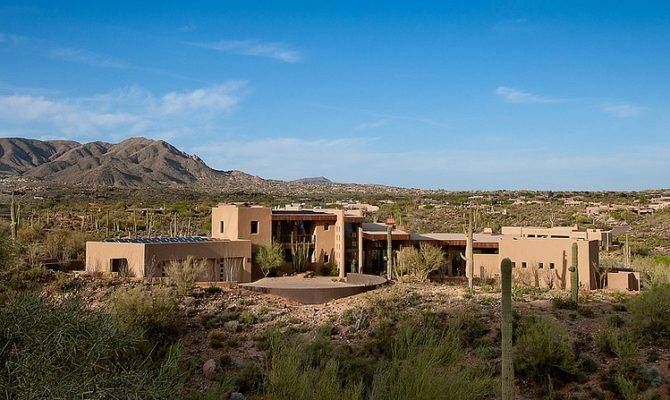 World Architecture Beautiful Modern House Desert